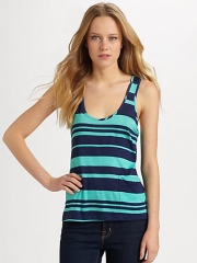 Splendid - Maritime Two-Toned Striped Tank Top at Saks Fifth Avenue