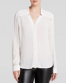 Splendid Blouse - Notch Collar at Bloomingdales