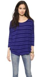 Splendid Blue Ridge Stripe Dolman Tee at Shopbop