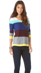 Splendid Brighton Stripe Sweater at Shopbop