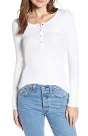 Splendid Classic Henley Thermal at Nordstrom