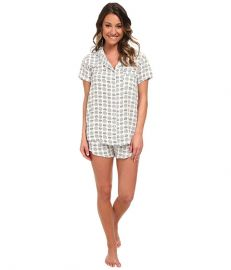 Splendid Classic PJ Set Vintage Pineapple at Zappos