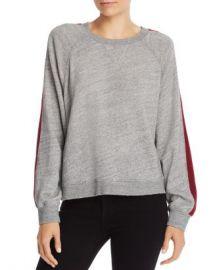 Splendid Color Block Stripe Sweatshirt Women - Bloomingdale s at Bloomingdales