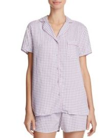 Splendid Intimates Gingham Classic Short Pajama Set at Bloomingdales