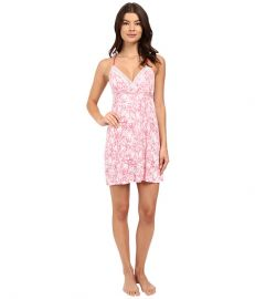 Splendid Mesh Trim Chemise Tropical Sketchy Floral at 6pm
