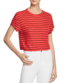 Splendid Striped Cropped Tee Women - Bloomingdale s at Bloomingdales