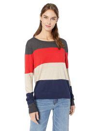 Splendid Women s Colorblock Sweater at Amazon