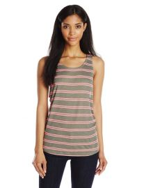 Splendid Womenand39s Cayman Stripe Tank in Olive at Amazon