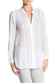 Split Neck Button-Up Shirt at Nordstrom Rack