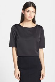 Split back crop top by Trouve at Nordstrom Rack