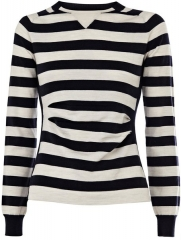 Sporty Stripe Sweater at Karen Millen