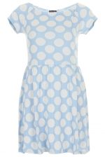 Spot Bardot Tunic at Topshop