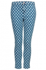 Spot print jeans by Topshop at Topshop