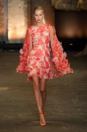 Spring 2014 Floral Dress at Vogue