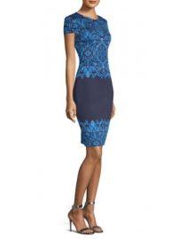 St  John - Brocade-Knit Sheath Dress at Saks Fifth Avenue
