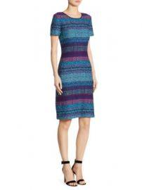 St  John - Wool Knit Dress at Saks Fifth Avenue