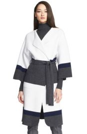 St John Collection Felted Wool andamp Cashmere Coat at Nordstrom
