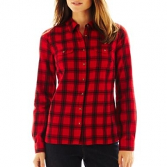 St Johns Bay Plaid Shirt at JC Penney