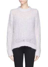 Stage sweater by Sandro at Lane Crawford