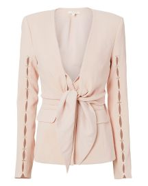 Staple Sleeve Crepe Blazer at Intermix