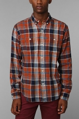 Stapleford Banger Plaid Button-Down Flannel Shirt at Urban Outfitters
