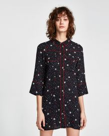 Star Mini Dress by Zara at Zara