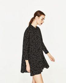 Star Print Dress at Zara