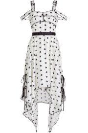 Star Print Handkerchief Dress at Stylebop