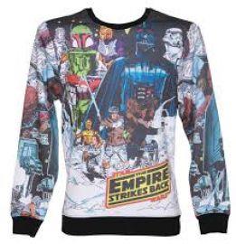 Star Wars Vintage Hoth Fleece Sublimation print Sweatshirt at Amazon