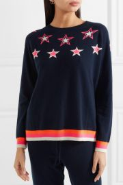 Star cashmere sweater by Chinti and Parker at Net A Porter