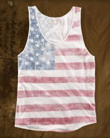 Stars and stripes tank at Ralph Lauren