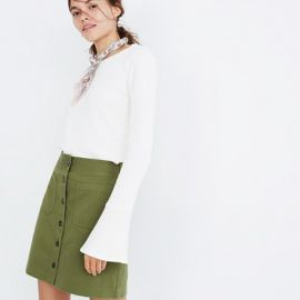 Station Mini Skirt at Madewell
