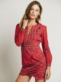 Stella Embroidered Dress at Free People