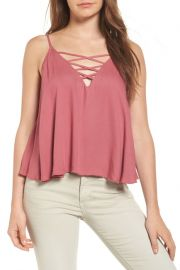 Stella Lace-Up Tank at Nordstrom Rack