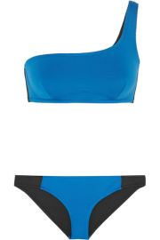 Stella McCartney   Iconic Color Block one-shoulder bikini at Net A Porter
