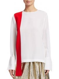 Stella McCartney - Ribbon Front Top at Saks Fifth Avenue