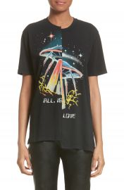 Stella McCartney All Is Love UFO Asymmetrical Tee at Nordstrom