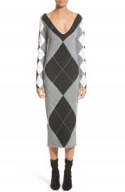 Stella McCartney Argyle Sweater Dress at Nordstrom