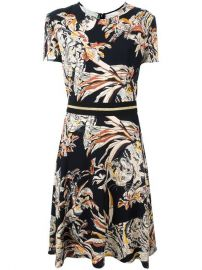 Stella McCartney Cat Print A-line Dress at Farfetch