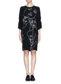 Stella McCartney Face Dress at Lane Crawford