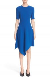 Stella McCartney Handkerchief Hem Cady Dress at Nordstrom
