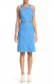 Stella McCartney Stretch Denim Dress at Nordstrom