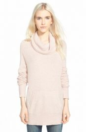 Stem Cowl Neck Cotton Sweater at Nordstrom