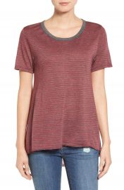 Stem striped High Low Tee at Nordstrom