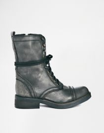 Steve Madden Monch Boots at Asos