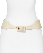 Stingray plaque belt by Vince Camuto at Bloomingdales