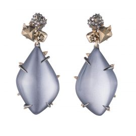 Stone Cluster Earrings at Alexis Bittar