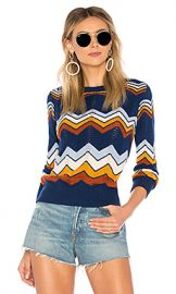 Stoned Immaculate Ziggy Sweater in Navy from Revolve com at Revolve