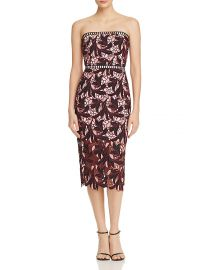 Strapless Lace Midi Dress  Elliatt at Bloomingdales