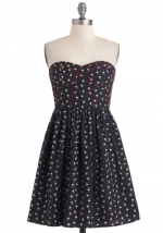Strapless dress from Modcloth at Modcloth